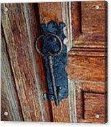 Mexican Door Decor 3  Acrylic Print