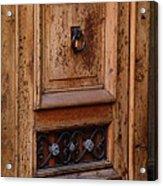Mexican Door Decor 5  Acrylic Print
