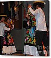 Mexican Folk Dancers 3 Acrylic Print