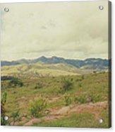Mexican Mountains Acrylic Print