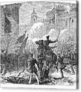 Mexican War: Monterrey Acrylic Print by Granger