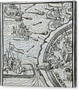 Mexico - Spanish Conquest Acrylic Print
