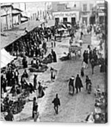 Mexico City - C 1901 Acrylic Print