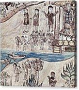 Mexico Indians C1500 Acrylic Print