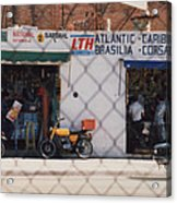 Mexico Tiendas Shops By Tom Ray Acrylic Print