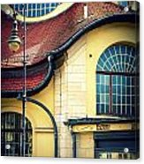 Mexikoplatz Bahnhof Close-up Acrylic Print
