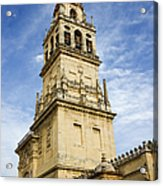 Mezquita Bell Tower Acrylic Print