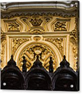 Mezquita Cathedral Choir Stalls Details Acrylic Print