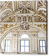 Mezquita Cathedral Renaissance Ornamentation Acrylic Print