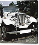 Mg Classic Car Acrylic Print