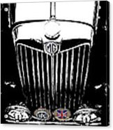 Mg Grill With Dash Of Color Acrylic Print