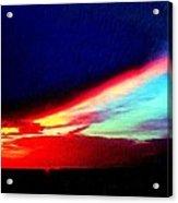 Miami Western Sky Acrylic Print