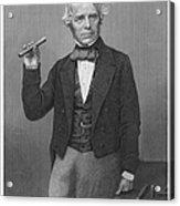 Michael Faraday (1791-1867) Acrylic Print