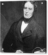 Michael Faraday, English Chemist Acrylic Print