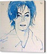 Michael Jackson - Gimme Your Wings Acrylic Print by Hitomi Osanai