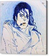 Michael Jackson - History Acrylic Print by Hitomi Osanai