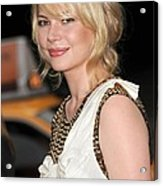 Michelle Williams Wearing A 3.1 Phillip Acrylic Print
