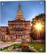 Michigan Capitol - Hdr - 2 Acrylic Print