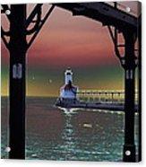 Michigan City Lighthouse 2 Acrylic Print