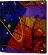 Mickey's Triptych - Cosmos IIi Acrylic Print