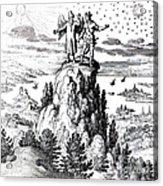 Microcosm, Macrocosm, 17th Century Acrylic Print