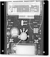 Microprocessor Acrylic Print