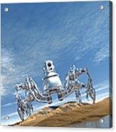 Microrobot, Conceptual Artwork Acrylic Print