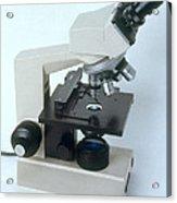 Microscope Acrylic Print