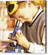 Microscope Use Acrylic Print