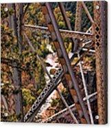 Midgley Bridge Oak Creek Canyon Acrylic Print