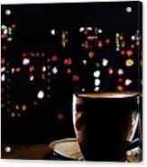 Midnight Brew Acrylic Print