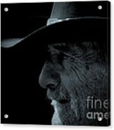 Midnight Cowboy Acrylic Print by Christine Till