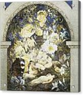 Midsummer Fairies Acrylic Print by Etheline Dell