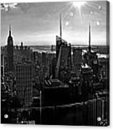 Midtown South Bw Acrylic Print