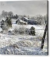 Midwestern Ice Storm - D004825 Acrylic Print