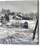 Midwestern Ice Storm - D004825 Acrylic Print