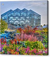Miejer Gardens Revisited Acrylic Print