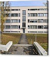 Mies Van Der Rohe Building Stuttgart Weissenhof Acrylic Print