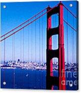 Mighty Golden Gate Acrylic Print