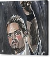 Mike Piazza Acrylic Print by David Courson