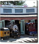 Mike Watson St. Turnhouse - Traintown Sonoma California - 5d19249 Acrylic Print