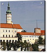 Mikulov Castle Acrylic Print