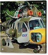 Mil Mi-2 Hoplite Acrylic Print