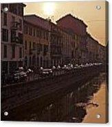 Milan Naviglio Grande Acrylic Print