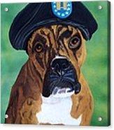 Military Boxer Acrylic Print