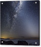 Milky Way Over Cape Otway, Australia Acrylic Print