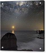 Milky Way Over Shipwreck Coast Acrylic Print