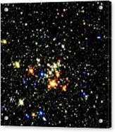Milky Way Star Cluster Acrylic Print
