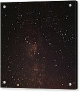 Milky Way Starfield Acrylic Print by Alan Sirulnikoff