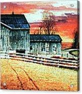 Mill Creek Farm Acrylic Print